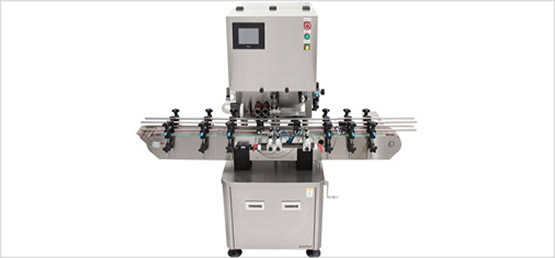 >Cotton/Desiccant Inserter